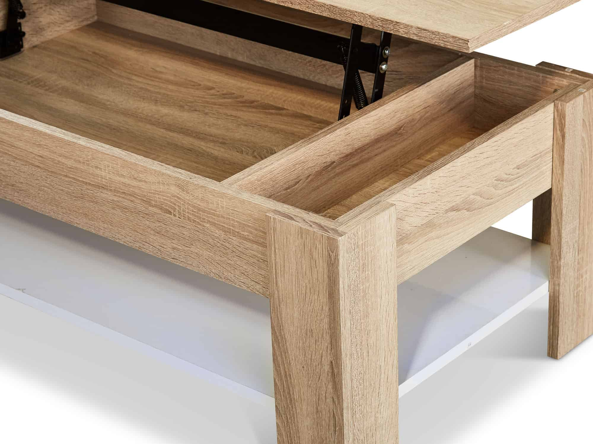 Toronto lift top coffee table