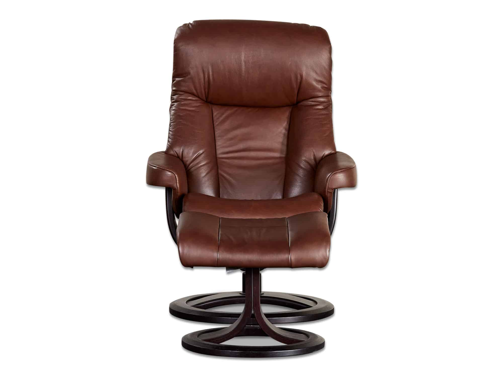 Molde recliner armchair leather